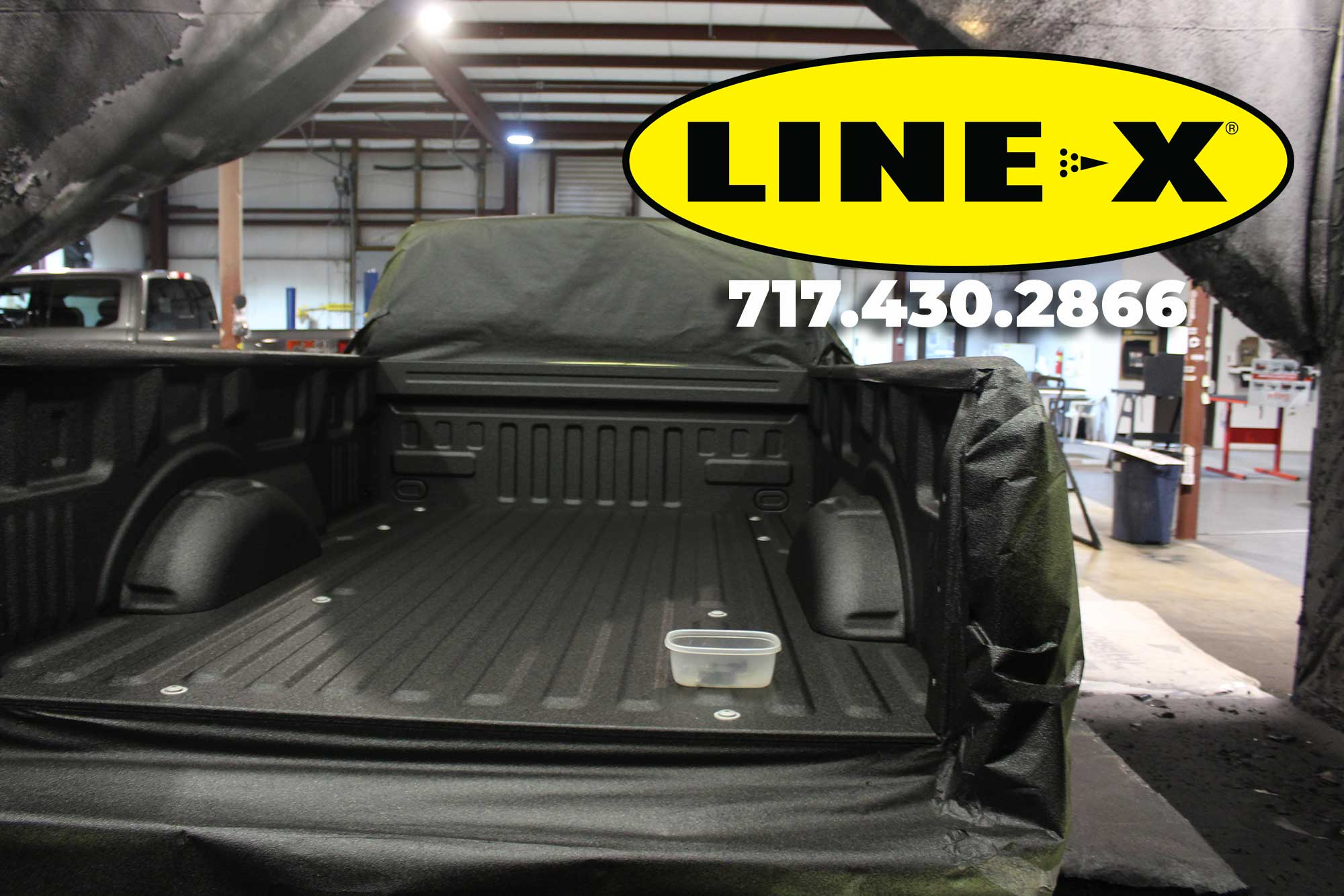 How much weight does a LINE-X bedliner add? – LINE-X of South Central PA